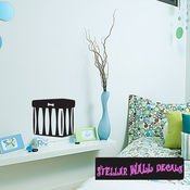 present gift box stripes gift Celebrations Wall Decals - Wall Quotes - Wall Murals GIFT7VIII SWD