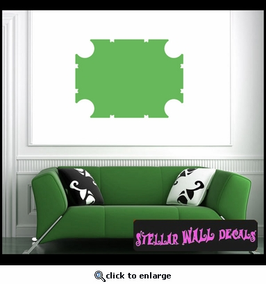 shapes custom templates backround borders ns041 wall decal wall