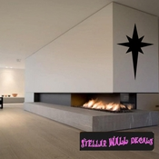 Star Christmas Holiday Wall Decals - Wall Quotes - Wall Murals CP034 SWD