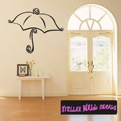 umbrella rain tekanashee Celebrations Wall Decals - Wall Quotes - Wall Murals UMBRELLA2VIII SWD