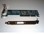 325833-001 Compaq Agp Graphics Card With Dvi Out, Low Profile Bra