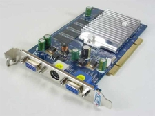 GeForce FX5200 DDR 256MB PCI  Dual VGA and S-Video