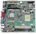 HP 432861-001 System board - AMD micro BTX with AM2 Socket for DC5700, DC5750