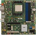 HP 531990-001 System board (motherboard) - For Elite 8100 Convertible Minitower PC (Piketon)