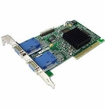 Matrox 7003-03 Millenium G450 Dual Head Pci Graphics Card Full Height