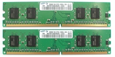 256MB Samsung PC2-3200 DDR2-400 240Pin M378T3354BZ0-CCC (M0006)