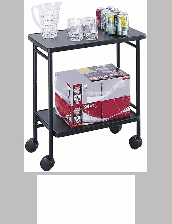 26 W X 15 D 30 H Mobile Steel Folding Office Cart With