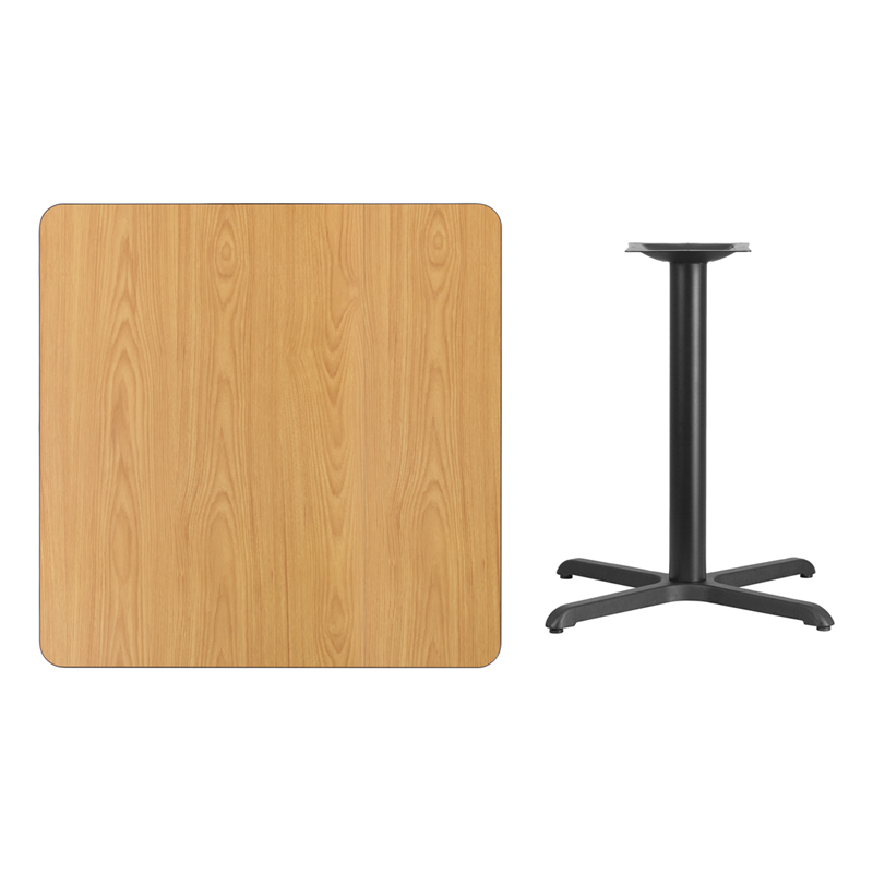 36 39 39 square natural laminate table top with 30 39 39 x 30 for 12 x 30 table