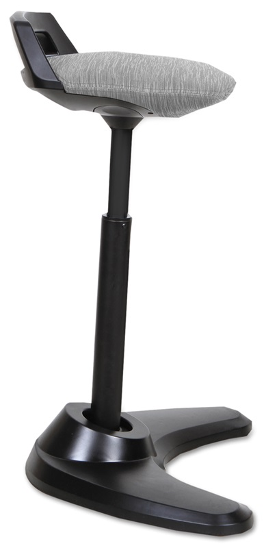 Alera 174 Sit To Stand Perch Stool With Auto Return Swivel