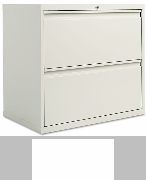 Alera® Four-Drawer Lateral File Cabinet - 36w x 19-1/4d x 53-1/4h ...