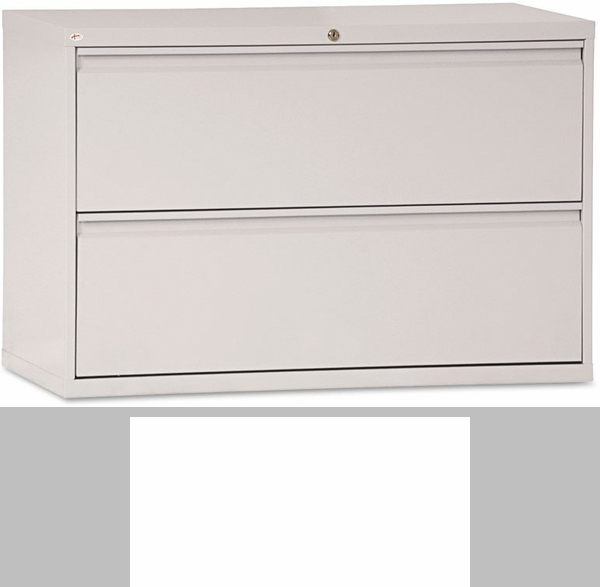 Alera® Two-Drawer Lateral File Cabinet - 42w x 19-1/4d x 28-3/8h ...