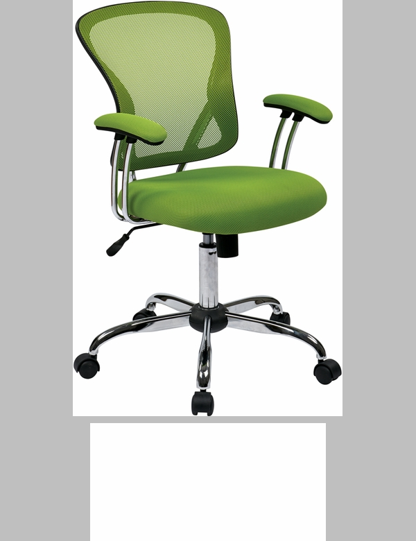 Ave Six Juliana Task Chair With Mesh Seat Green JUL26 6 FS OS