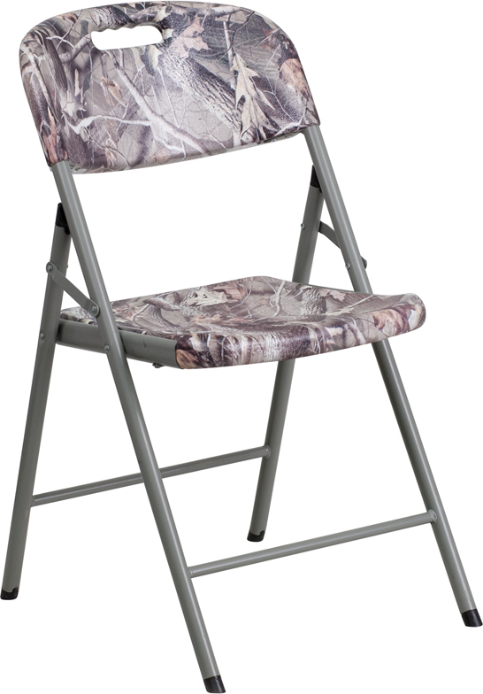 Camouflage Plastic Folding Chair [RB RBC 06 CAM GG]