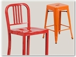 Colorful Metal Stools