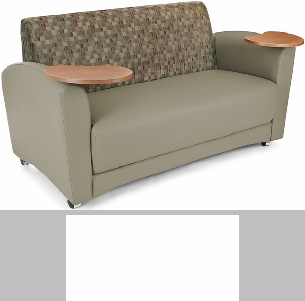 interplay sofa plum and taupe 822 plum pu607nt fs mfo. Black Bedroom Furniture Sets. Home Design Ideas