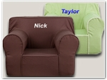 Large Personalized Kids Chairs