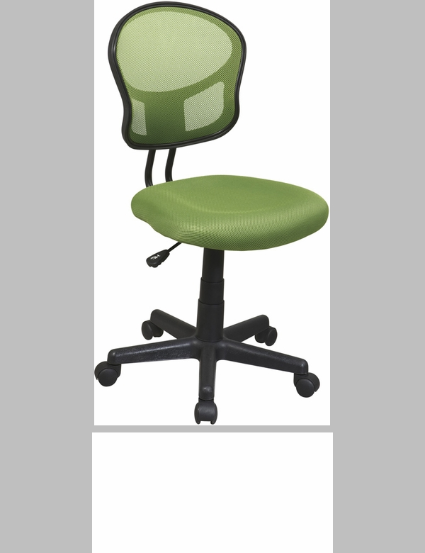 Osp designs designer mesh seat computer task chair with for Chair height design