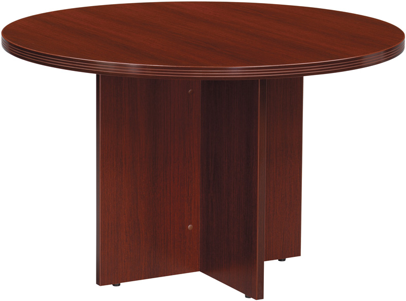 Osp furniture napa round conference table mahogany nap for Furniture 4 less napa