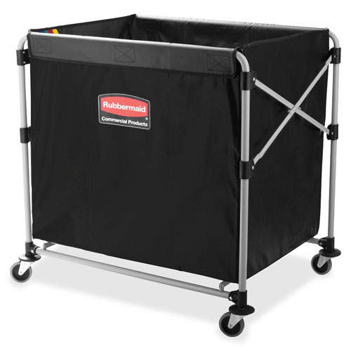 rubbermaid commercial products 8bushel collapsible xcart x x