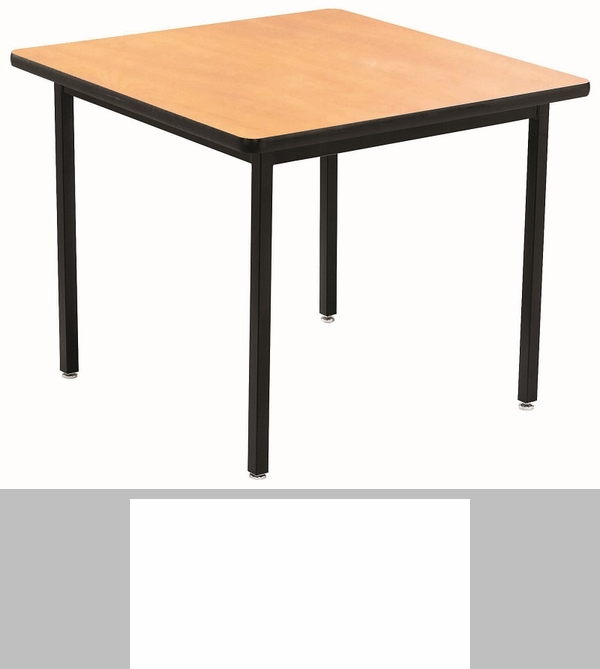 Square laminate top all welded 1 1 4 39 39 particleboard for Html table class