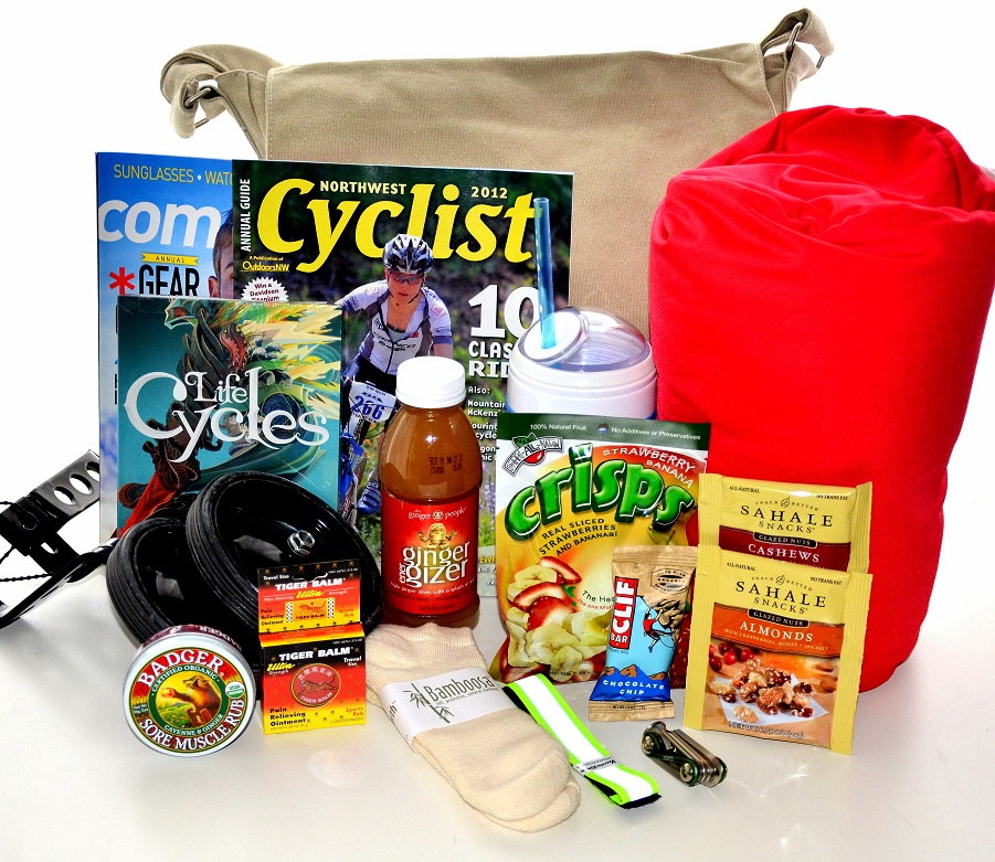 Unique get well gift basket mountain biker for Unusual get well gifts