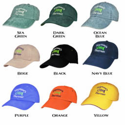 Hats Adjustable Logo