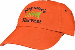 Neptune's Harvest Hat Orange