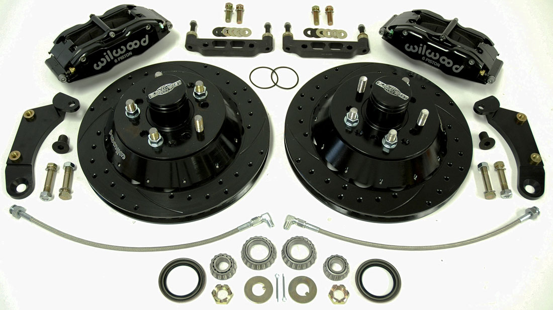1959-1964 Impala 13 Inch Disc Brake Kit for Stock Spindles # C5-5964-13-6D