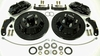 Impala 13 inch front disc brake kit using stock spindles from Global West Suspension for 1959, 1960, 1961, 1962, 1963, and 1964 models.