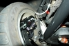 13 inch brake installation backside in wheel 1958, 1959, 1960, 1961, 1962, 1963, 1964 Impala 13 - Global West kit
