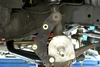 Global West 13 inch brake bracket being installed on 1958, 1959, 1960, 1961, 1962, 1963, 1964 Impala