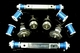Econo-Track Kit: For rebuilding the front end - includes Ball Jonits / Offset Shafts / Del-a-lum bushings  Part #ETK-6769