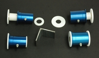 Performance Del-A-Lum Lower Control Arm Bushing Kit for 1970, 1971, 1972, and 1973 Camaro applications from Global West Suspension.