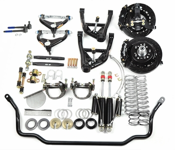 1971-72 A-Body Big Block Front Performance Suspension with Aluminum Spindles part# KT423-PK12B