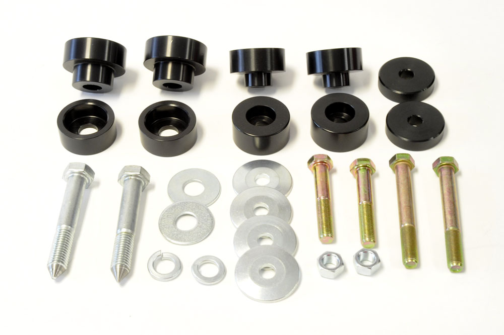 Body Mount Bushing Kit with Global West Subframe Connectors