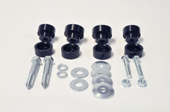 Global West Interloc body mount bushing kit that compliments Global West sub frame connector kits.