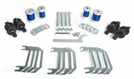 Corvette C5 and C6 replacement control arm bushing kit for the front end part# KT-C56F