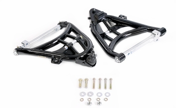 Extended travel lower control arm for 1963, 1964,1965, 1966, 1967, 1968, 1969, 1970, 1971, 1972, 1973, 1974, 1975, 1976, 1977, 1978, 1979, 1980, 1981, and 1982 Corvette
