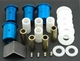 Del-A-Lum Lower Control Arm Bushing Kit Part #1011