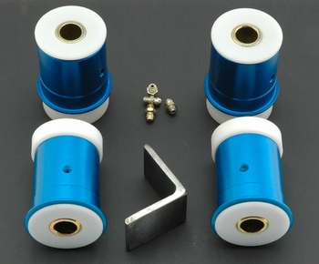 Del-A-Lum Lower Control Arm Bushing Kit  part # 1046RD