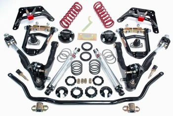 Ford Coil-Over Front End Kit - Negative Roll/Small Block (Double Adjustable) part # COMNR-6265D