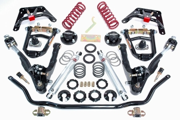 Ford Coil-Over Front End Kit - Negative Roll/Small Block (Single Adjustable) part # COMNR-6265S