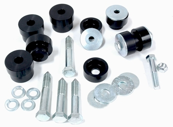 Stock Height Solid Aluminum Interloc Body Mount Bushings