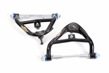 Tubular Upper Control Arms for Coil Springs with Del-A-Lum Bushings. Made for 1973, 1974, 1975, 1976 and 1977 GM A-bodies
