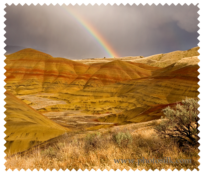 Painted Hills & Rainbow