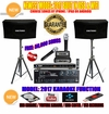"SINGTRONIC COMPLETE 1300 WATTS PROFESSIONAL KARAOKE SYSTEM SPECIALS <b><i><font color=""#FF0000"">FREE 50,000 SONGS</font></i></b> SPECIAL WIFI FUNCTION & HDMI OUTPUT & BLUETOOTH FUNCTION"