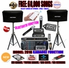 "SINGTRONIC COMPLETE 1500 WATTS PROFESSIONAL KARAOKE SYSTEM SPECIALS <b><i><font color=""#FF0000"">FREE 60,000 SONGS</font></i></b> SPECIAL WIFI FUNCTION & HDMI OUTPUT & BLUETOOTH FUNCTION"