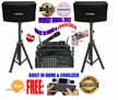 "SINGTRONIC COMPLETE 1000W KARAOKE SYSTEM PACKAGE SPECIAL WITH 45,000 SONGS <font color=""#FF0000""><b><i>NEWEST MODEL: 2017 WITH HDMI & WIFI & EQUILIZER</i></b></font>"