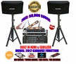"""SINGTRONIC COMPLETE 1000W KARAOKE SYSTEM PACKAGE SPECIAL WITH 50,000 SONGS <font color=""""#FF0000""""><b><i>NEWEST MODEL: 2017 WITH HDMI & WIFI & EQUILIZER</i></b></font>"""