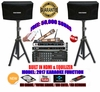 "SINGTRONIC COMPLETE 1000W KARAOKE SYSTEM PACKAGE SPECIAL WITH 50,000 SONGS <font color=""#FF0000""><b><i>NEWEST MODEL: 2017 WITH HDMI & WIFI & EQUILIZER</i></b></font>"